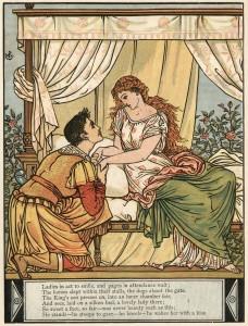 Sleeping Beauty by Walter Crane, Courtesy of Wikimedia